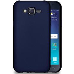 Mjukt Tunnt Mobilskal för Samsung Galaxy J7 Silikon Stötsäker Sk Mörkblå