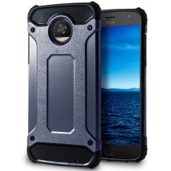 Mobil Skydd till Motorola Moto Z2 Play | Hårt Hybrid Skal i Blå Blå