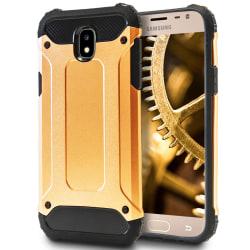 Mobil Skydd till Samsung Galaxy J3 (2017) J330 | Hårt Hybrid Ska Guld