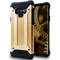 Mobil Skydd till Samsung Galaxy Note 9 | Hårt Hybrid Skal i Guld Guld