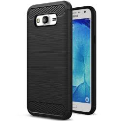 Mobilt fodral för Samsung Galaxy J2 Prime Svart | Matta TPU Svart
