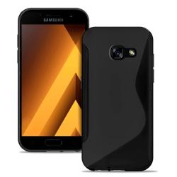 MobiltelefonSkal i för Samsung Galaxy A3 (2017) TPU Ultratunna M Svart