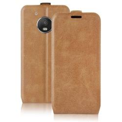 Motorola Moto G5 Telefon Magnet Design-Skal Skydd Mobilskal TPU  Brun