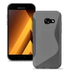 Samsung Galaxy A3 (2017) Ultratunna Ljus Vanliga färger Silikon  grå