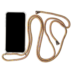 Samsung Galaxy A50 Gummi Skal Rem Mobilskydd Stötsäker Telefon T multifärg
