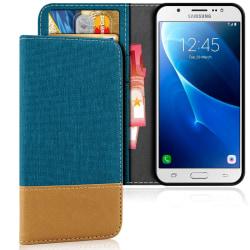 Samsung Galaxy J5 (2016) Konstläder Stötsäker Mobilskydd Mobilsk Grön