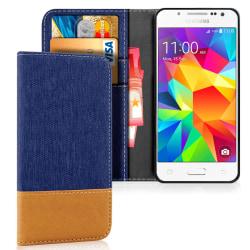 Samsung Galaxy J5 Mobilskydd Mobilskal TPU Stötsäker Magnet Skyd Mörkblå