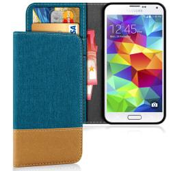 Samsung Galaxy S5 Mini Mobilskal Telefon Mobilskydd TPU Full Cov Grön