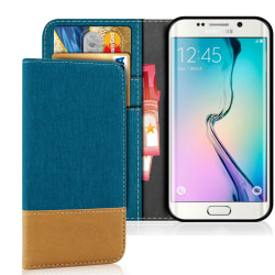 Samsung Galaxy S6 Stötsäker Jeans Mobilskydd Mobilskal Skal Magn Grön