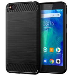 Silikonfodral för Xiaomi Redmi Y1 (Note 5A) | Svart | Mat Svart