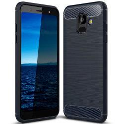 Skal Skydd till Samsung Galaxy A6+ (2018) | Blå Stöttåligt TPU Blå