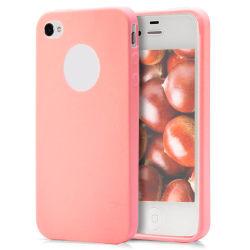 Skal till Apple iPhone 4 / 4s Röd TPU Skydd Fodral Röd