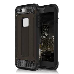 Skal till Apple iPhone 6 6s Hårt Armor Skydd Svart TPU Fodral Black