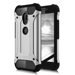 Skal till Lenovo Moto G4 Play Fodral Motorola Silver Skydd TPU A Silver