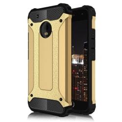 Skal till Lenovo Moto G5 Fodral Motorola Guld Skydd Armor Gold