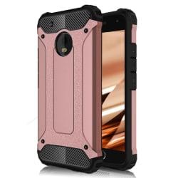 Skal till Lenovo Moto G5 Fodral Motorola Rosa Skydd Armor PinkGold