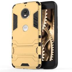 Skal till Motorola Moto G5s Space Armor Guld Skydd Fodral Kickst Gold