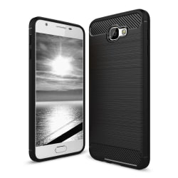 Skal till Samsung Galaxy J7 Prime Fodral Skydd TPU Slim Armor Ko Svart