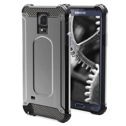 Skal till Samsung Galaxy Note 4 - Armor Grått Skydd Fodral grå