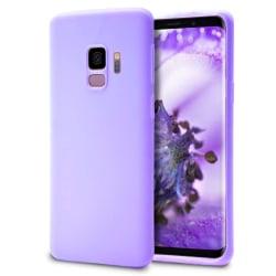 Skal till Samsung Galaxy S9 Lila TPU Skydd Fodral Lila