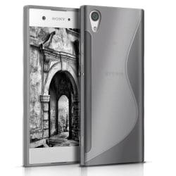 Sony Xperia XA1 Stötfångare stötdämpande Gummi Vanliga färger Tr grå