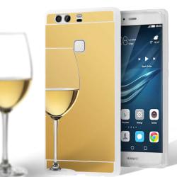 Spegel Skal för Huawei P9 Plus Glänsande Mobilskydd Telefon Mobi Guld