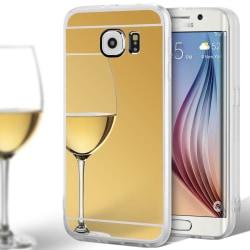 Spegel TPU Skal för Samsung Galaxy S6 Silikon Mobilskydd Skydd S Guld