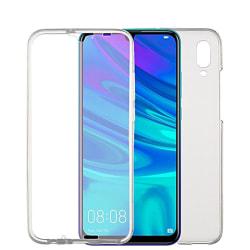 Stötsäkert Skal för Huawei Y6 Pro (2019) Mobil 360 Skydd TPU Tel Transparent