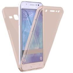 Stötsäkert Skal för Samsung Galaxy J5 Mobilskydd Gummi Telefon S Rosa guld