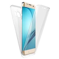 Stötsäkert Skal för Samsung Galaxy J7 (2016) Silikon Genomskinli Transparent