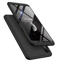Totalt Omslag för Samsung Galaxy A7 2018 | Fullständigt Svart