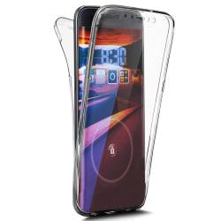 TPU Mobil-Skal för Apple iPhone X / XS Full Skydd Stötsäker Gumm Transparent