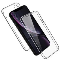 TPU Mobil-Skal för iPhone XR Telefon Gummi Mobilskal Stötsäker 3 Transparent