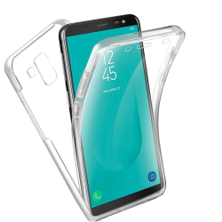 TPU Mobil-Skal för Samsung Galaxy A5 (2018) Klart Silikon Mobils Transparent