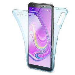TPU Mobil-Skal för Samsung Galaxy A50 Gummi Mobilskydd Stötsäker Blå