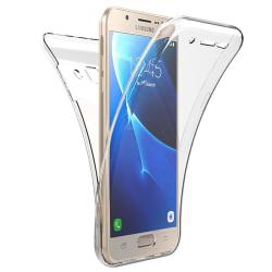 TPU Mobil-Skal för Samsung Galaxy J5 (2016) Silikon Genomskinlig Transparent