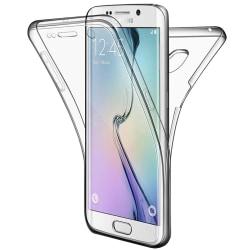 TPU Mobil-Skal för Samsung Galaxy S6 Edge+ Plus Stötsäkert Silik Transparent