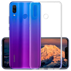 Tunnt Mjukt Skal för Huawei P20 lite Mobilskal TPU Klart Transparent
