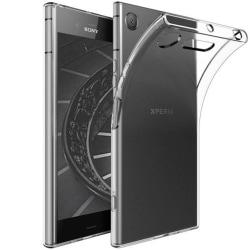 Tunnt Mjukt Skal för Sony Xperia XZ1 Genomskinligt Gummi Klart Transparent