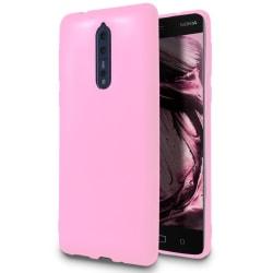 Tunt Mjukt Skal till Nokia 8 | Rosa Rosa