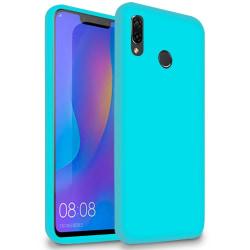 Ultra tunnt skal till för Huawei Y7 (2019) Mobil Ultra-Slim TPU  Turkos