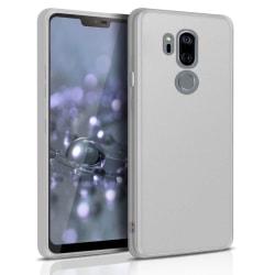 Ultra tunnt skal till för LG G7 ThinQ  Lätt Skydd Gummi Mobilsky Vit