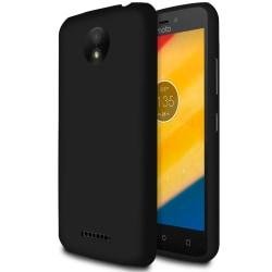 Ultra tunnt skal till för Motorola Moto C Plus Mobilskal Mobilsk Svart