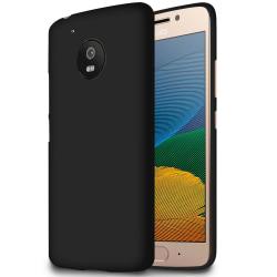 Ultra tunnt skal till för Motorola Moto G5 Mjukt Silikon Stötsäk Svart