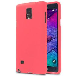 Ultra tunnt skal till för Samsung Galaxy Note 4 TPU Telefon Mobi Röd