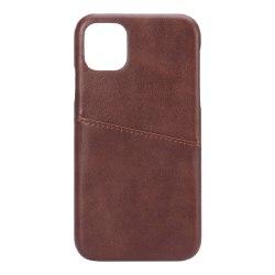 Onsala iPhone 11 brun med Kortfack