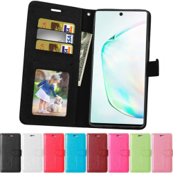 3-kort Mobilplånbok Samsung Galaxy Note 10 Plus (SM-N975F) Svart