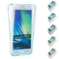 360° heltäckande silikon skal Samsung Galaxy A3 2015 (SM-A300F Grå
