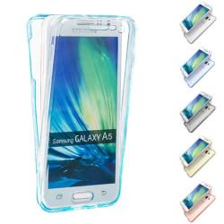 360° heltäckande silikon skal Samsung Galaxy A5 2015 (SM-A500F Guld