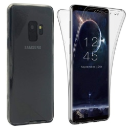 360° heltäckande silikon skal Samsung Galaxy A6 2018 (SM-A600F